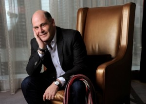 'Mad Men' creator Matthew Weiner '87 talks about his vision for the show as it enters its final season. Photo: Chris Pizzello / AP